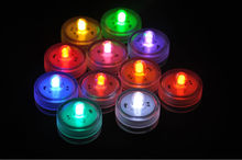 Fancy Safe Unique design round Teal bright Perfect for christmas Superior quality color changing Underwater decorative Led Light