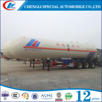 Tri Axle 50 CBM Semi Trailer