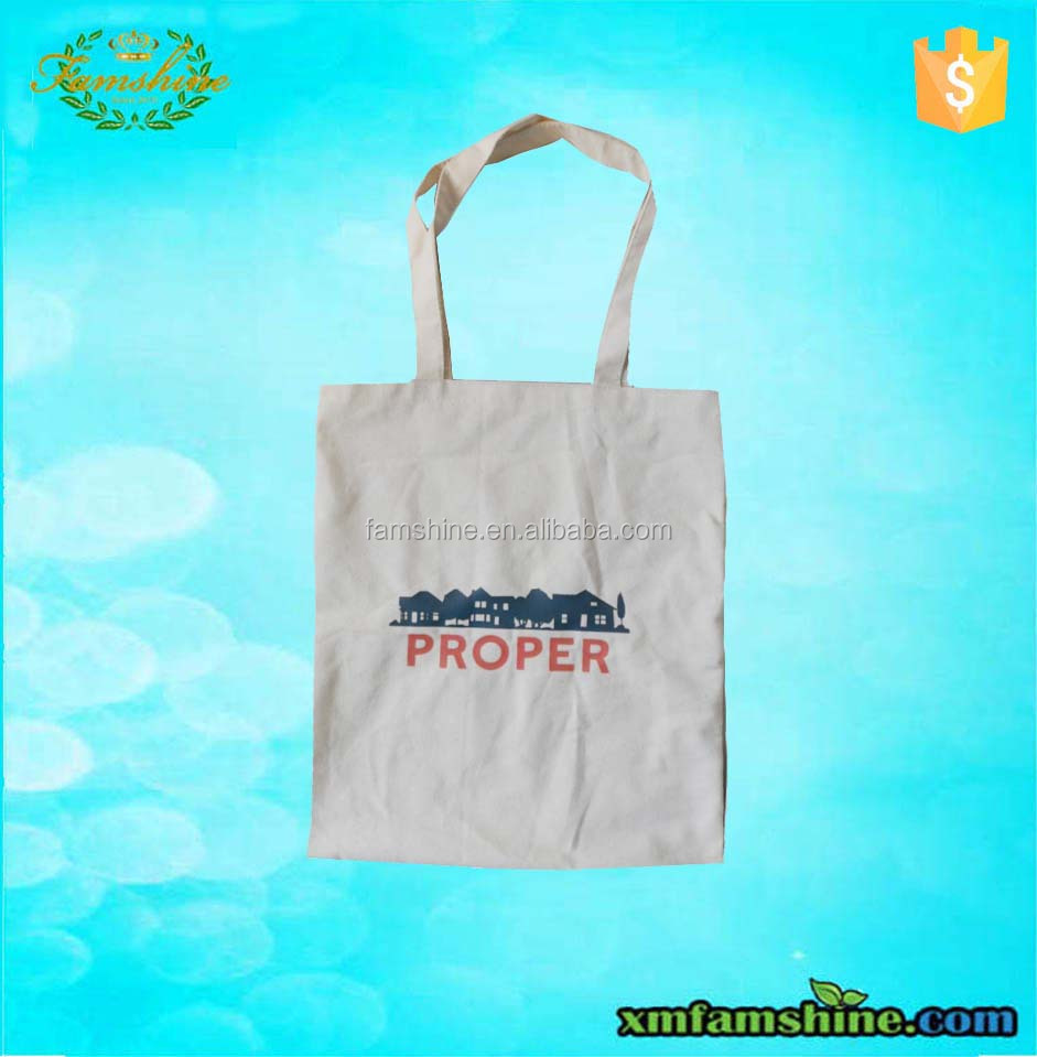 customized blank canvas wholesale tote bags