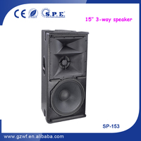 3 Way Speakers 15 inch PA Sound System Indoor SP-153