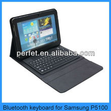 wireless bluetooth keyboard case for samsung galaxy tab p5100
