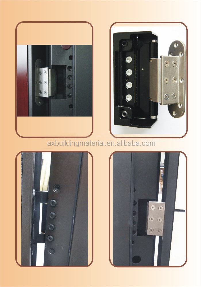 NEW DESIGN Strong Security CAST ALUMINIUM Bullet Proof Door