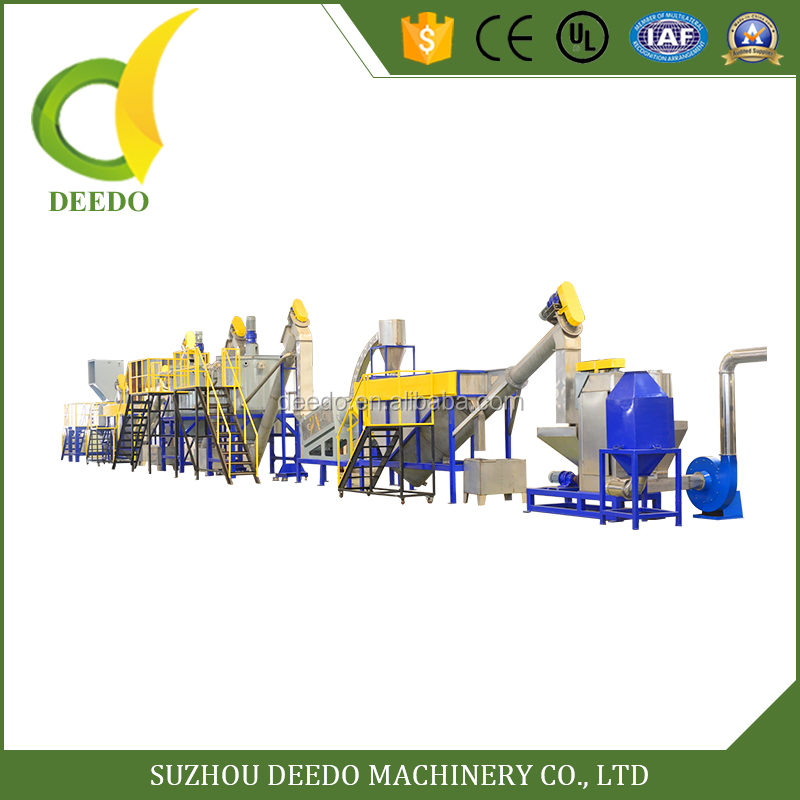 Direct Factory Price cheap plastic recycling line machine