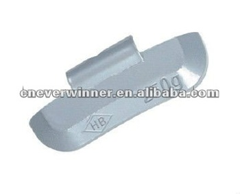 Pb clip on wheel weight for truck