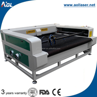 DSP color ccd camera CCD camera laser cutting machines 1610 automatic device