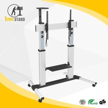 Chinese factory supply rolling plasma TV cart for sale