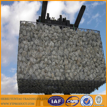 gabion stone box hot dipped galvanized weaving