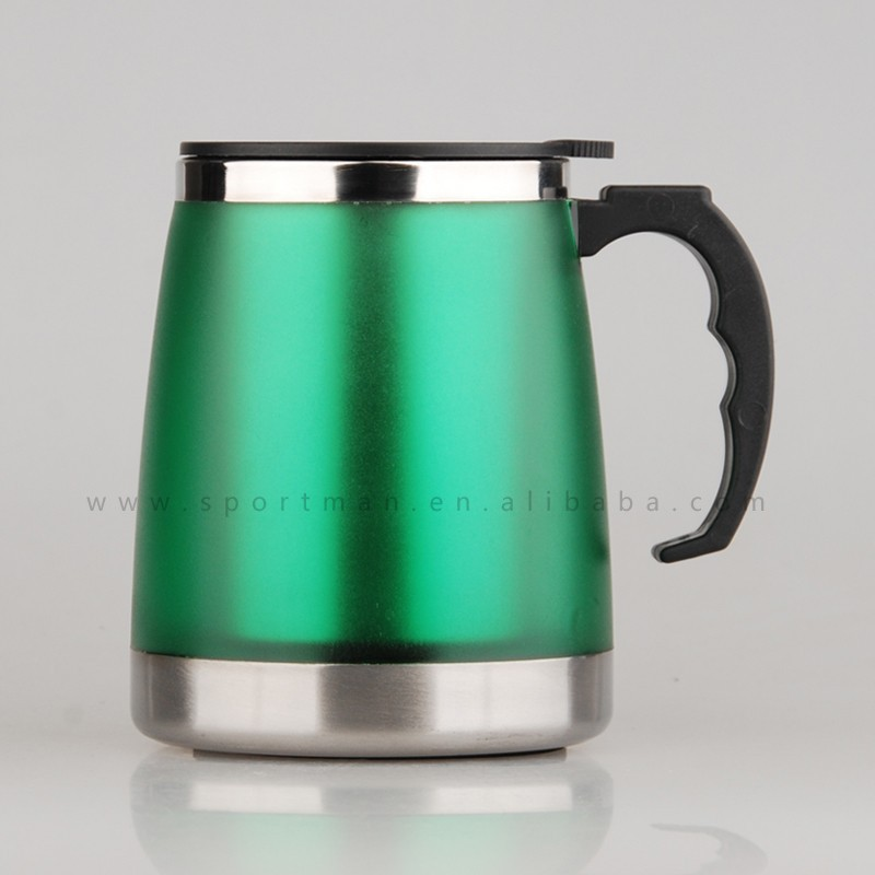 Plastic Thermos Travel Mug With Your Own Design Insulated