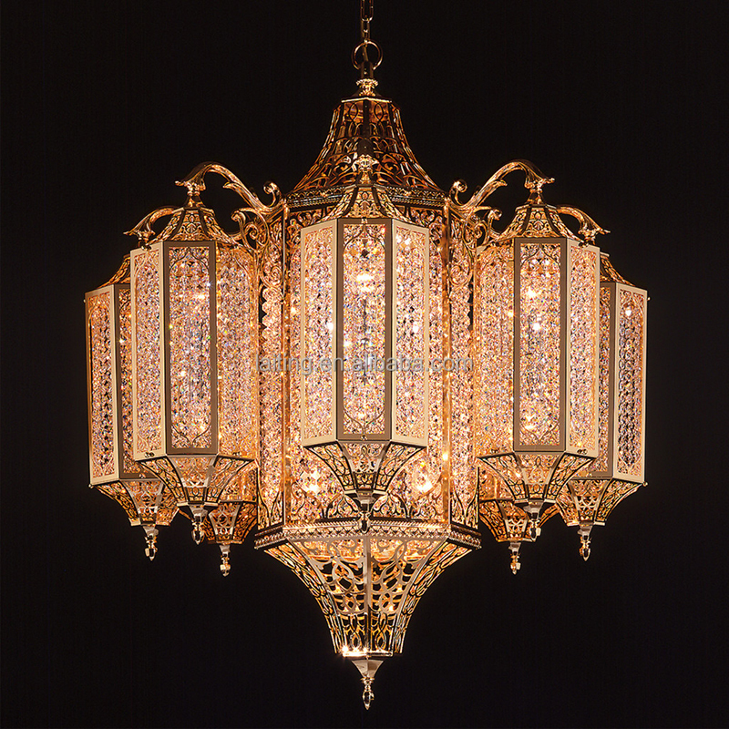 Moroccan mosque chandelier light with crystals buy chandelier light chandelier crystals light - Images of chandeliers ...