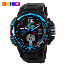 outdoor sports original china supplier cheap dual time watches