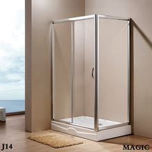 Direct Factory,low pric,framed,Rectangle,one sliding doos open style shower enclosure