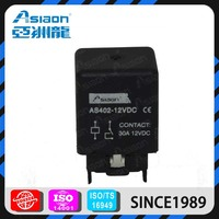 ASIAON Small MOQ Accepted Yuqing Top Quality 12V 30A 4pin Automotice Relay