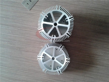 Circle custom CNC machining led modular street light heat sink