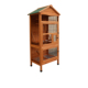 Big size wooden Bird cage with feeder