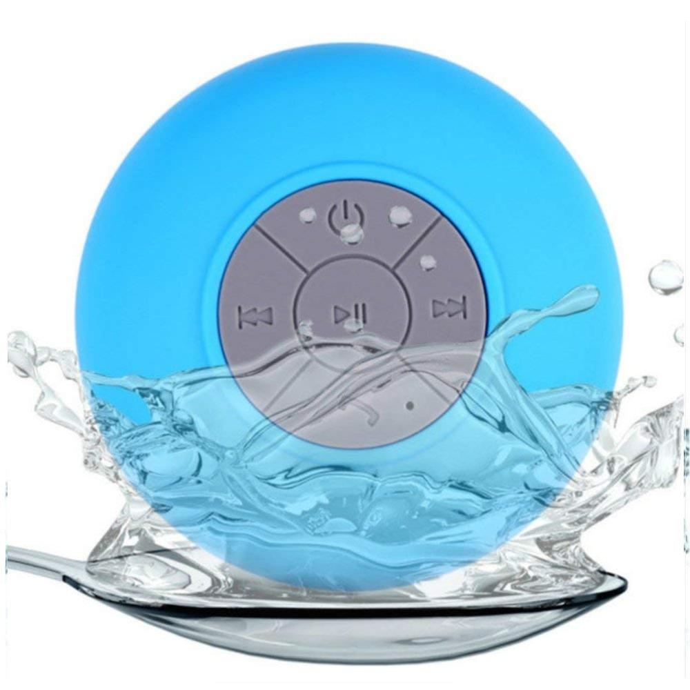 suction Waterproof bathroom shower bluetooth <strong>speaker</strong> wireless