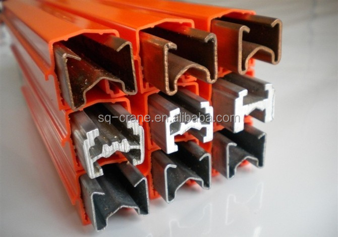 3Phase/4Phase/6Phase Conductor bar system Power Rail Enclosed Conductor system