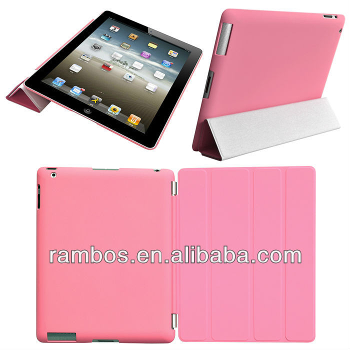 Tablet PC Smart Cover Magnetic Wake up/Sleep Smart Case Cover for iPad Air
