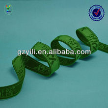 High end elastic jacquard band
