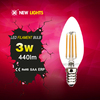 4w led filament bulb, c35 e14 led bulb, Ra80 e26 led candled bulb
