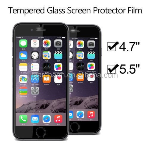 tempered glass safeguard screen protector for iphone6&6 plus