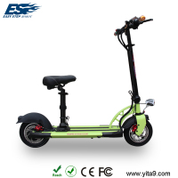 New arrival green electric scooter motorbike