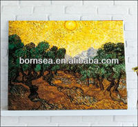 scenery oil painting stretched art canvas wall painting