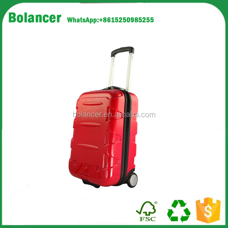 cheap frame custom luggage insert decent stock trolly bag