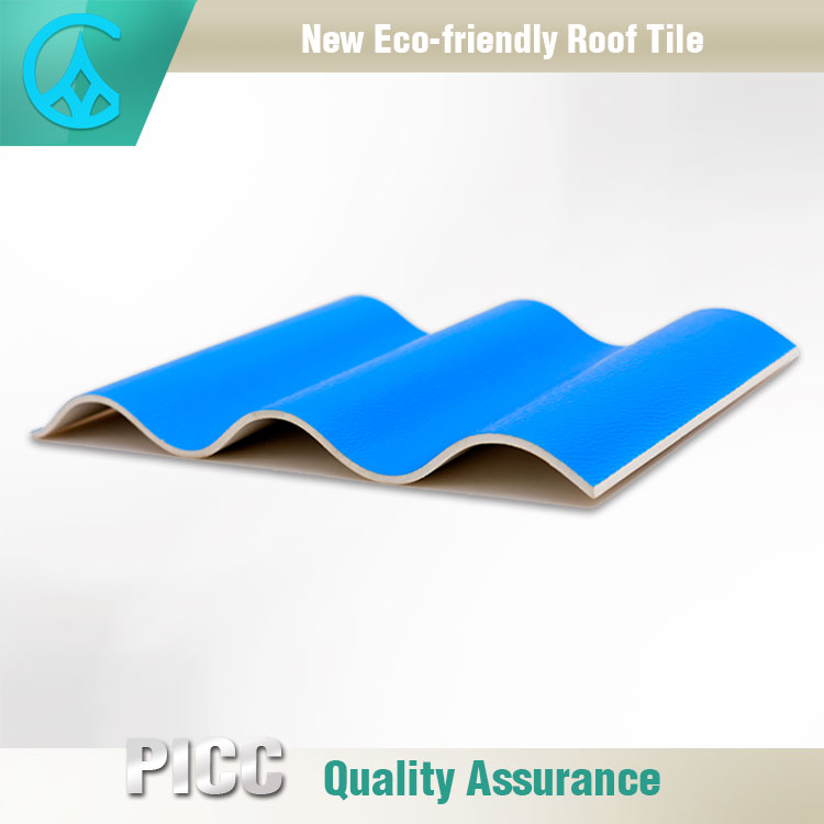 Factory Supply High Rib Corrugated Building PVC Plastic Roofing Sheet