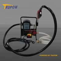 Factory wholesaler price electric oil transfer pumps with counter and nozzle
