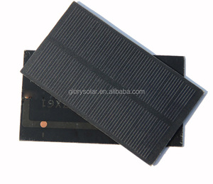 Solar Panel Manufacturers In China Offer Low Price Mini 1W Solar Panel 5V 200mA 107*61*3MM Small Solar Panel Customization