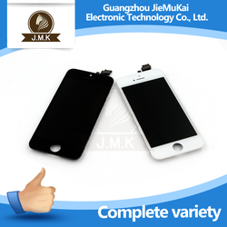China supply glass lcd digitizer screen replacement for iphone 5 black display