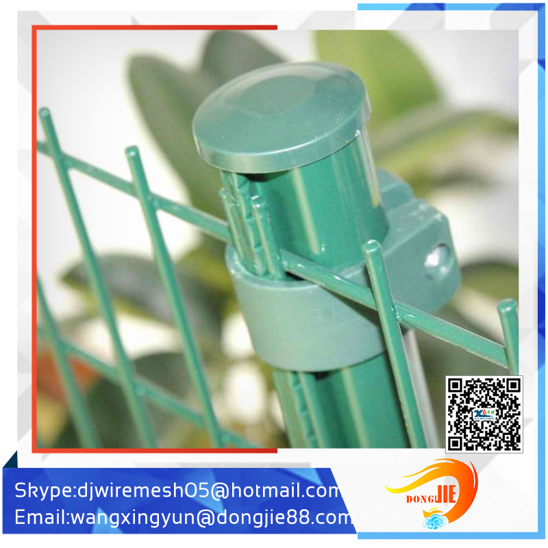 work well Easy installation decorative metal columns highway fence cvrved fence
