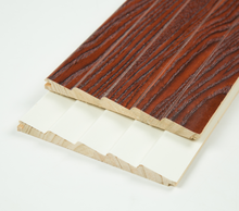 melamine paper wrapped wooden mouldings for cabinet furniture