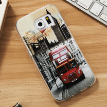 Factory supply silicon+pc/tpu mobile phone case for sumsung S6