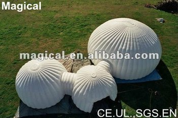 3 part inflatable marquee/dome