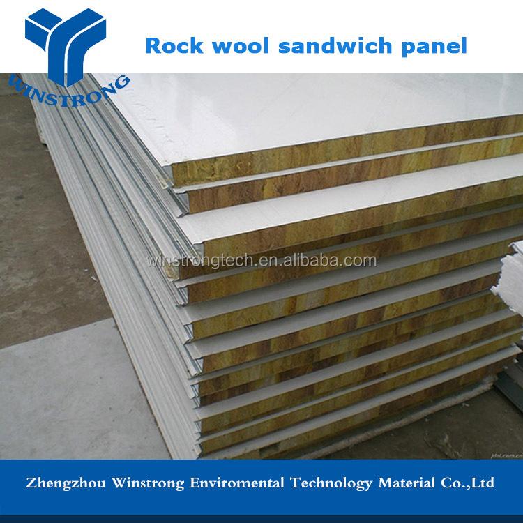 Rock Wool Sandwich Panel : Rock wool sandwich panel wall board buy