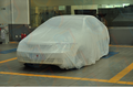 disposable plastic elastic dust covers for cars