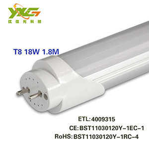 Flexible tube light 10w t8 led tube 10W,0-900lm,110-240V
