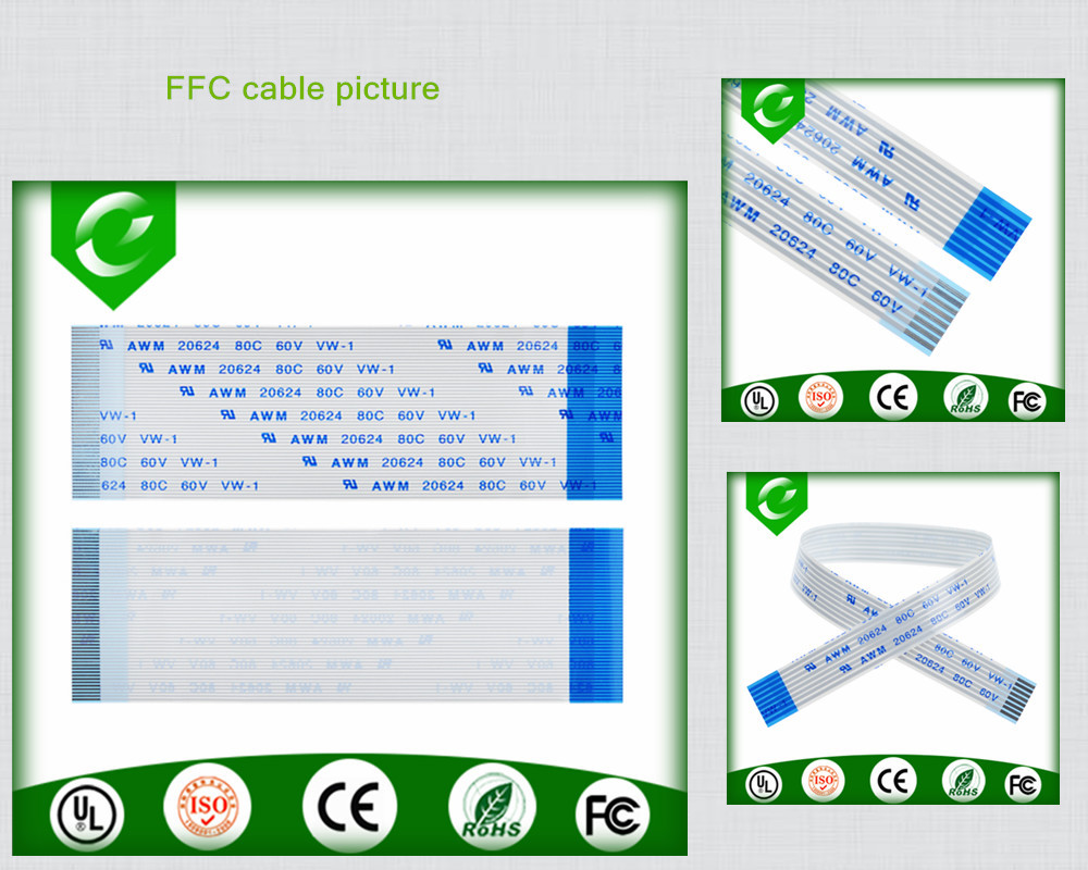 Custom high quality ffc 40pin to 30 pin cable