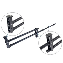 Professional Mini Camera Jib Crane 2M Video Camera DV DSLR Jibs Rocker Arm Max Load 5kg + Quick Release Plate with Bag