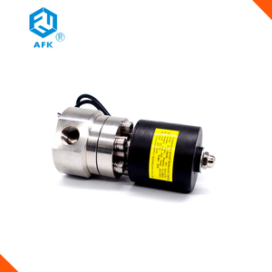 "High pressure 1/2""3/4"" 1"" Gas Electric Liquid Nitrogen Solenoid Valve"