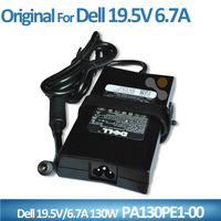 Slim genuine 19.5V 6.7A 130W PA-4E PA4E ac dc adapter For Dell FA130PE1-00