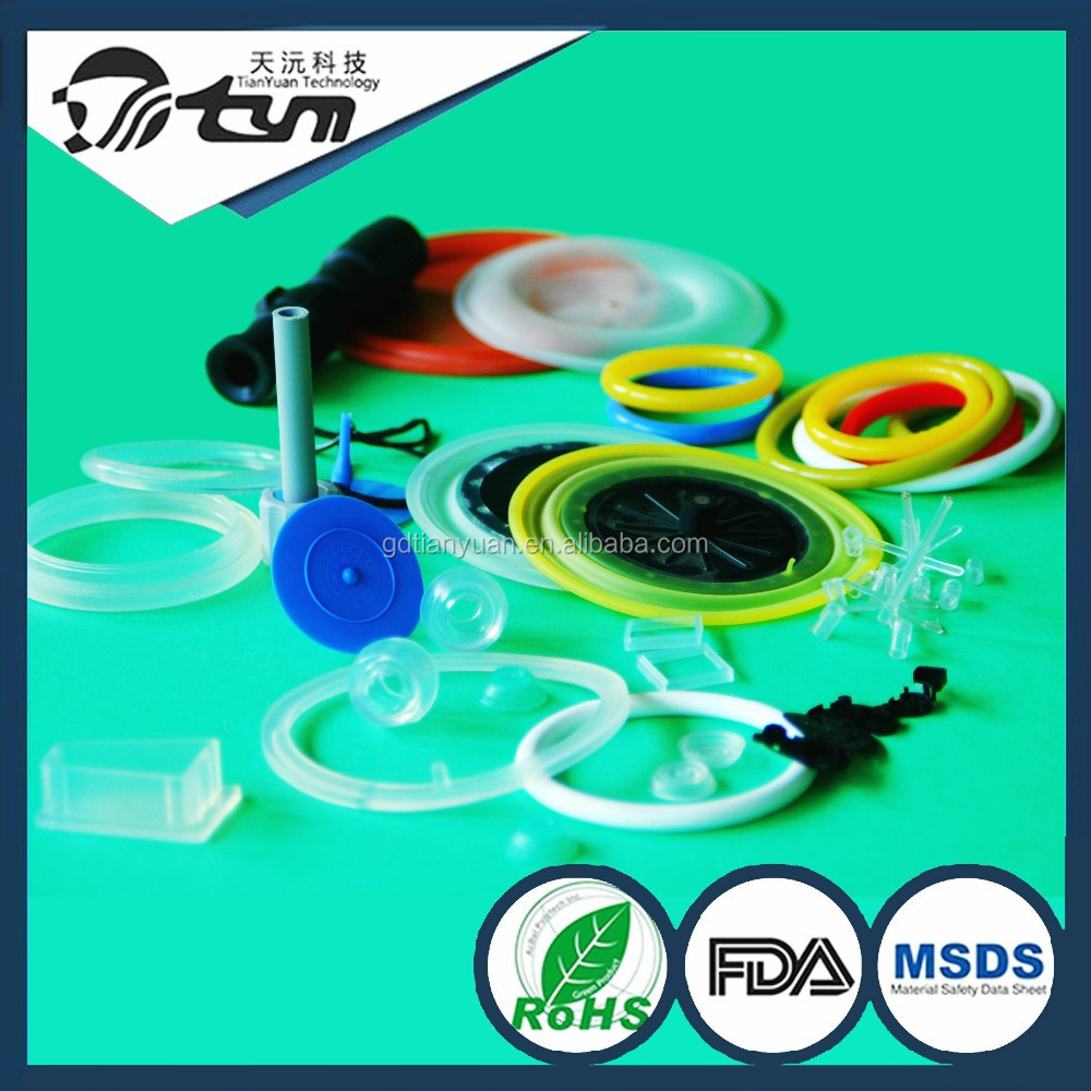 Silicone rubber O-rings for cars, overmold diaphragm, OEM LSR camera accessories manufacturer