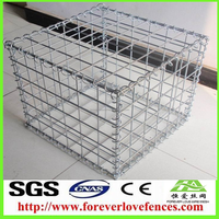 China Anping Foreverlove manufacturer Garden Fence Welded Gabions/gabion box
