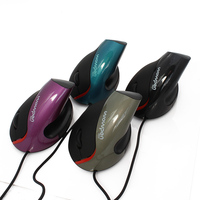 Ergonomic USB Optical Wired Vertical Mouse Wrist Healing Alleviate Fatigue Wired Vertical Mouse