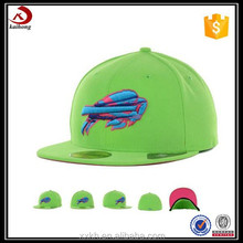 Made in china green clothing embroidery beach hats for women
