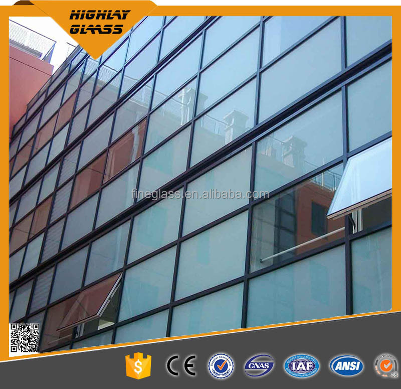 CCC/CE/ISO9001 4mm ultra clear tempered glass floating stair glass