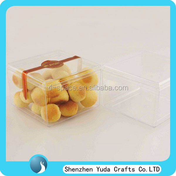 Hotsale Plastic Cookies Box For Bakery