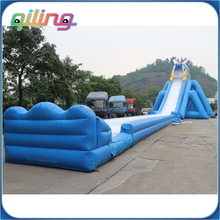 china super high giant commercial grade big inflatable slides for sale dry water slide for adults and kids for fun
