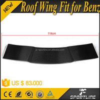 A Class Carbon Fiber A260 Rear Trunk Spoiler Wing Fit for Mercedes R Sport A260 Sport Bumper 2013 Up